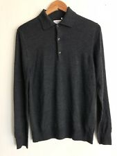 Moncler Dark Gray Wool Pull Over Sweater Size 4 / Xl