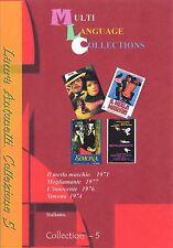 Laura Antonelli DVD Collezione 5 di 4 film Collection. Laura Antonelli. Italiano