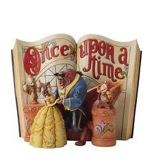 Disney Book  Love Endures Bell & Beast Beauty & Beast Storybook Figurine 4031483