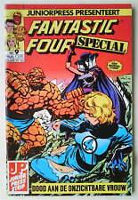 FANTASTIC FOUR SPECIAL #9 RARE JUNIOR PRESS NETHERLANDS EDITION 1985 V.FINE/MINT