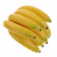 /Fruits Artificielles Plastique Bananas pour d/écoration de Boutique D/écor de Cuisine GoodFaith Faux Fruits Bananas/