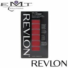 Revlon Nail Applique – Nail Art Style Strips - Flamming Fishnets 05 - Brand New