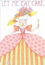 Let Me Eat Cake-Handcrafted Marie Antoinette Magnet-w/Mary Engelbreit art