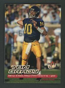 2000 Fleer Ultra Tom Brady