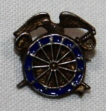 ORIGINAL, SMALL WWII STERLING QUARTERMASTER CORPS SWEETHEART PIN