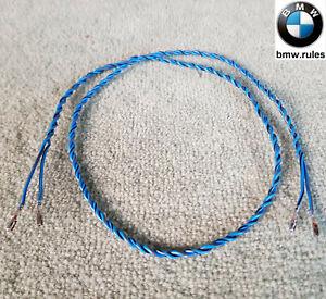 2 Pin Pair 0.75mm² OEM BMW AMP Female Terminal Contact Plug Wiring Harness Uncut