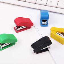 1Pc Portable Mini Stapler Stationery Set Paper Binding Office School Supplies c
