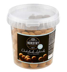 NORDTHY CHOKOLADE LAKRIDS MILD 500g - Schoko - Kugeln - Lakritz - Bonbon -