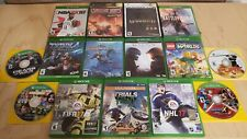 Xbox One Lot 15 Games Fifa Battlefield Halo MegaMan Lego Trials Subnautica L@K!