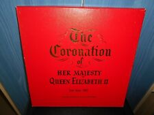 Boxed Record Set - Queen's Coronation Service 2nd June 1953