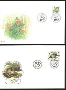 FINLAND 2 X FDC 1994: Flowers & Population Records