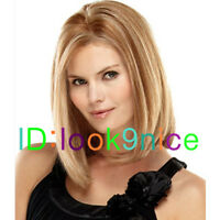 New Hot Middle-long brown wig stylish ladies sexy Hair wigs + Free Wig cap