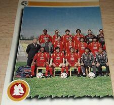 FIGURINA CALCIATORI PANINI 1997/98 ROMA SQUADRA ALBUM 1998