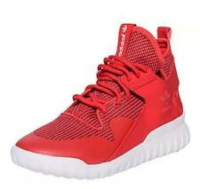DS Adidas Men's Tubular X Collegiate Red/White Shoes S77842  vintage w/receipt