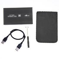 6.3cm USB 2.0 3.0 SATA HD HDD Hard Disk Drive Recinto Esterno Case Box Sostegno