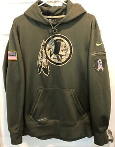Nike Washington Redskins 2014 Salute to Service Therma-Fit Hoodie Men's Size L