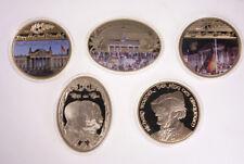 MGM * 5 Giganten Medaillen Deutsche Geschichte Proof (Berlin, Wagner, 3Kaiser)