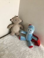 SMALL PLUSH IGGLE PIGGLE AND MAKKA PAKKA soft body plush friends comfort