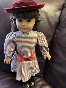 """18"""" American Girl Doll Samantha - Retired, W/ Meet Outfit Pleasant Company"""