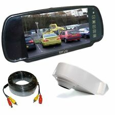 Overhang Roof Mount Camera Van Rear View Reversing System & Mirror Monitor