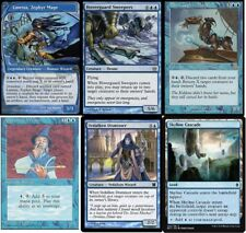 Tap Tap Tempo Deck - Linessa - Alexi Zephyr Mage MTG Magic Gathering - 60 Cards