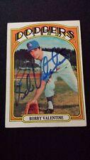 1972 Topps Bobby Valentine Auto Autograph Vintage Angels HOF?