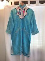 Vintage Vietnam war-era Silk robe/Kimono From Vietnam