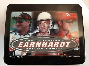 The Legendary Earnhardt Racing Family 3 Car Set 1:64 Revell Ralph Dale Sr & Jr