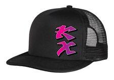KAWASAKI retro motocross cap, KX vintage MX trucker hat , snapback