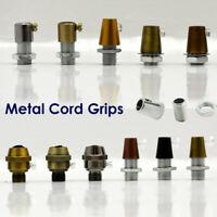 5 x Metal Cord Grip Retro Cable Lock for Lamp Holder Pendant Choose Finish