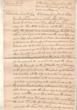 1819 document Columbia County Hudson NY Supreme Court Geary/Van Deusen v Kellogg