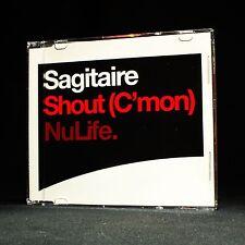 Sagitaire - Shout (c'mon) - Nulife - music cd EP