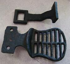 Vintage Cast Buggy Wagon Step & Strap Bracket Very Nice original Condition!