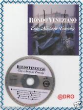 RONDO VENEZIANO + UNA NOTTE A VENEZIA + CD + + di culto