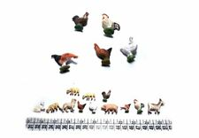 5 animali terracotta  x pastori 3,5  5 cm x landi presepe shepherds crib
