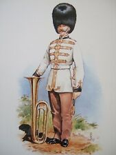 STADDEN MILITARY MUSICIANS POSTCARD-TUBA-BANDSMAN CORPS OF ROYAL ENGINEERS 1857