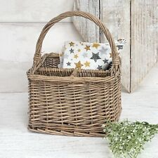 Willow Wicker Cultery Basket