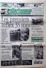 La Vie du Collectionneur n°67- 1er Reflex 35mm Wagons IS Hornby Bouteilles déco