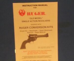Ruger Handgun Manuals For Sale In Stock Ebay