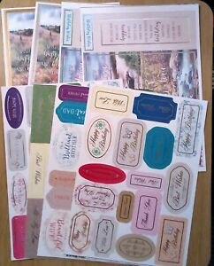 Craft Clearout Kanban A4 Toppers And Sentiments Sheets
