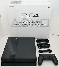 Sony PS4 500GB HDMI Video Game Console CUH-1115A Black Tower Playstation 4 RF-A