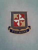 Authentic US Army 306th Cavalry Regiment DI DUI Unit Crest Insignia