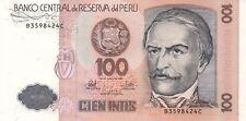 PEROU/P133 // Billet de 100 INTIS-26/6/1987