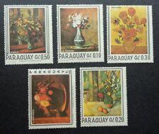 Paraguay Flower Painting 1967 Art Flora Plant (stamp) MNH