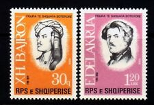 ALBANIA Sc 2266-7 NH ISSUE OF 1988 - FAMOUS PEOPLE