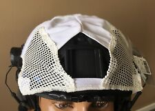First Spear, Helmet Cover Ops Core FAST High Cut, Hybrid Stretch/Mesh. White.