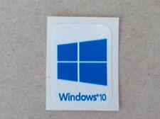 Windows 10 Aufkleber  - HD Qualität blau