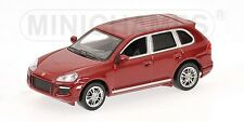 Porsche Cayenne Gts 2007 Red Metallic 1:64 Model MINICHAMPS