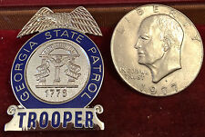 Georgia State Patrol Trooper Badge Free Shipping