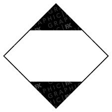Blank Limited Quantity Hazard Warning Labels Stickers COSHH PPE
